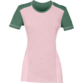 Norrøna Wool T-Shirt Dames, candy pink